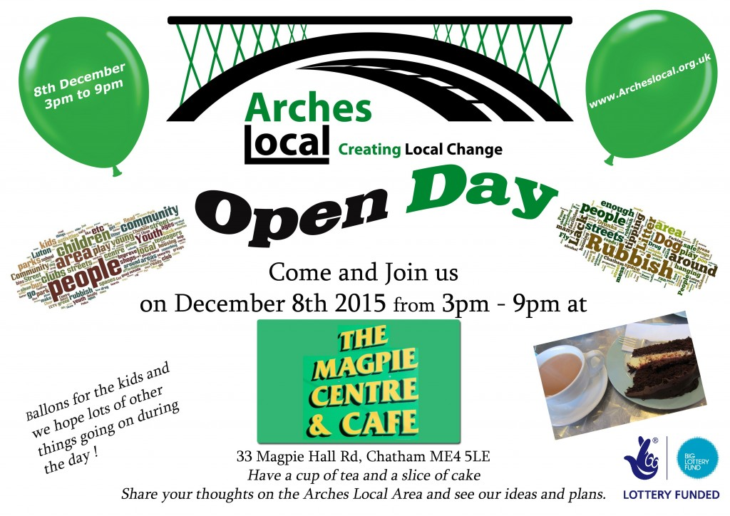 arches open day