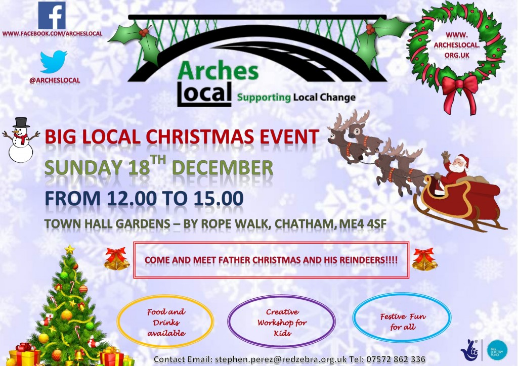 XMAS 18th Dec Arches Local