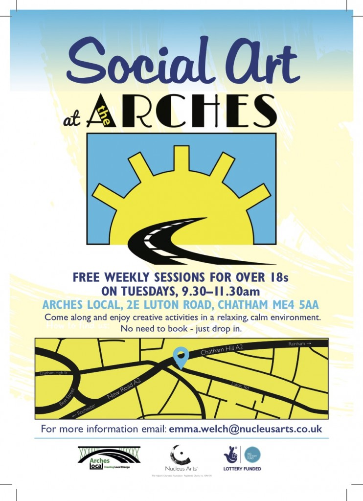 Social Art at the Arches flyer Feb 18-2